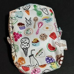 SOLD! * Paperchase Pouch Food Theme